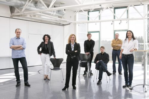 © Stefanie Grewel. v.l.n.r.: Siegfried Reiner, Andrea Einhoff, Hannah Stegmayer, Simon Gailling, Stefan Seiler, Martin Oberbichler, Barbara Michels