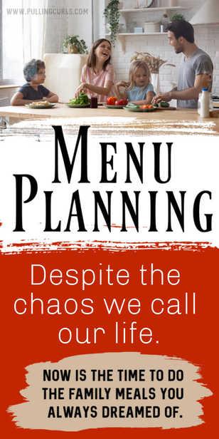 How can I create a menu plan? via @pullingcurls