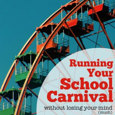 Runing your school carnival can be a daunting task. Here's what I learned in the 3 years I ran our school's.