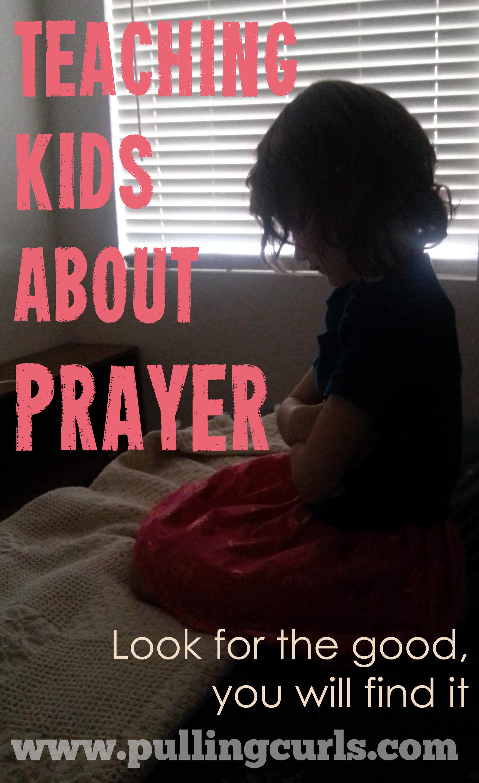 Teaching Children About Prayer