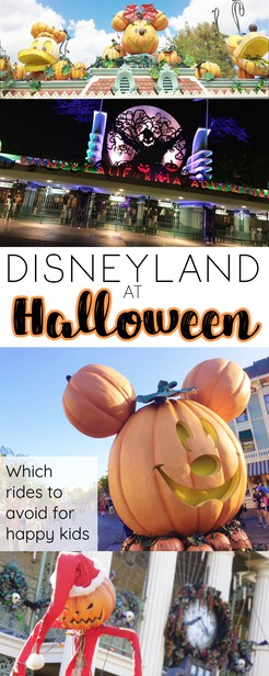 Disneyland is a premier destination for Halloween -- if you know what you're getting into. Here are 5things to know about Disneyland at Halloween include ride changes, decor and special events like Mickey's Halloween party! via @pullingcurls