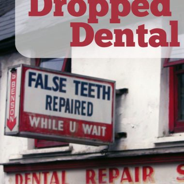 We dropped dental insurance. Come find out what happened, and if you should consider dropping YOURS?