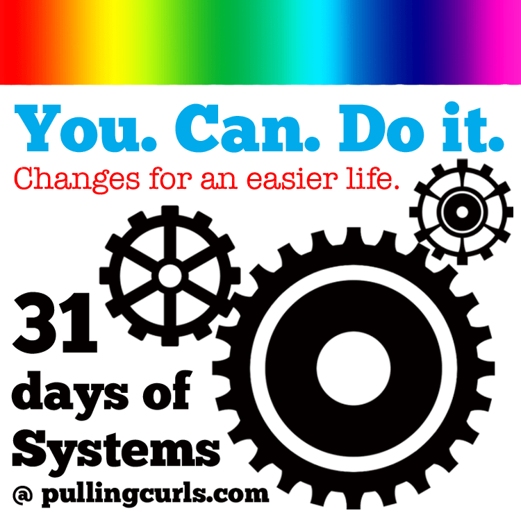 31 Days of Systems Pulling Curls Challenge