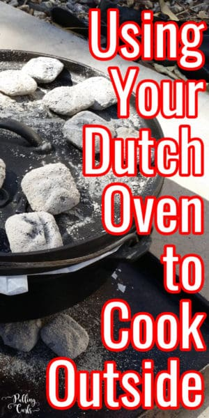 cooking in the dutch oven