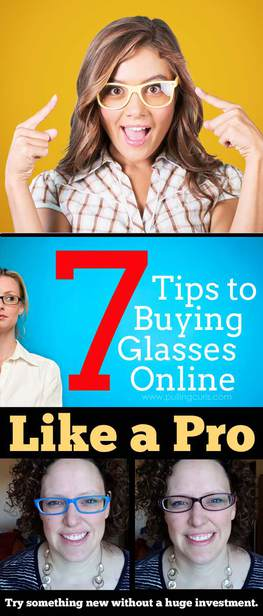 Buying glasses online can be awfully confusing, how do you know which to buy? These seven tips will take you from your ophthalmologist to adorable new glasses in no time! via @pullingcurls