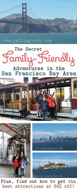 The Bay Area can be intimidating with SO much to do -- what will your family enjoy?  Don't miss the very BEST of family adventures in the SF Bay in this post.  This family lived there for years and shares their great info with you! via @pullingcurls