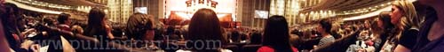 I kind of love this panoramic photo. :)