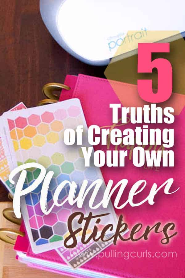 planner stickers | happy planner | silhouette | printable | free | DIY