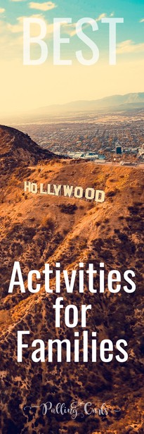 Hollywood is a super fun place for families (and some areas are less fun).  A lot are really cheap -- you can have a great time together! via @pullingcurls