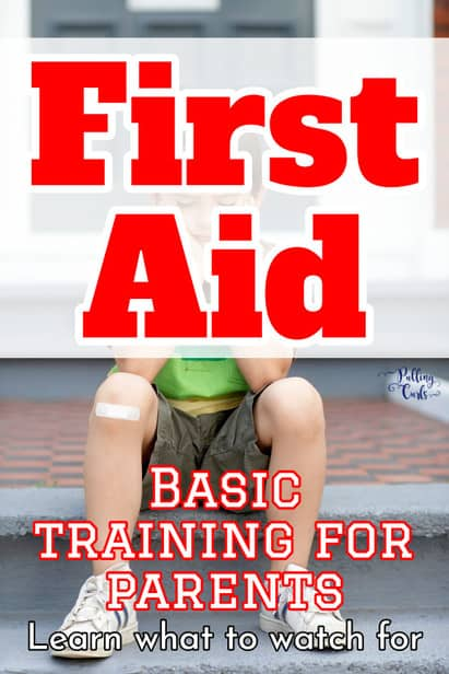 These first aid tips are AWESOME for parents. Keep cool during the eventual casualties of summer. via @pullingcurls