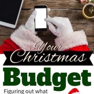 deciding on your Christmas budget