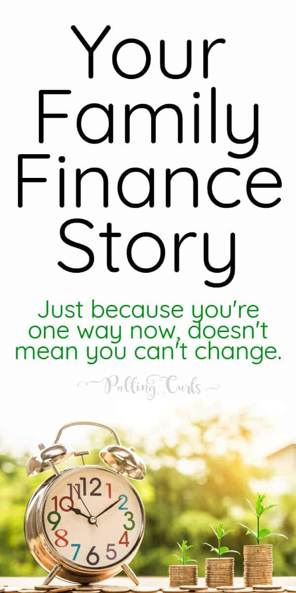 What's your family finances story? via @pullingcurls