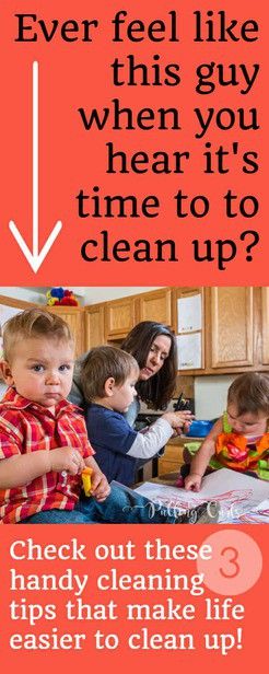 This lady has some SMART ideas for cleaning up fast from life's little messes.  What easy things to keep on hand! via @pullingcurls
