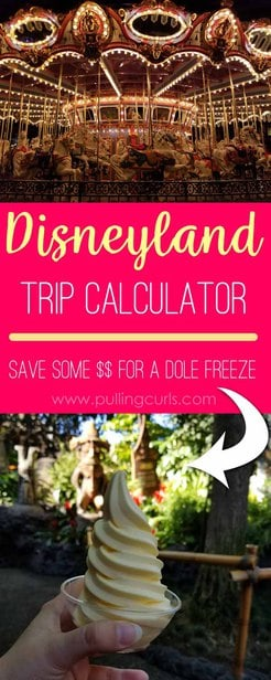 This Disneyland Trip Calculator will keep your trip on BUDGET and still have an amazing time, since you will easily have everything planned in advance! via @pullingcurls