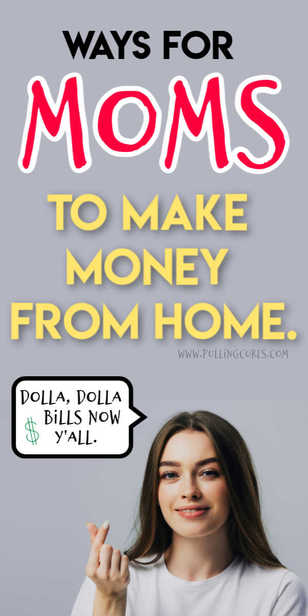 How can you make money from home as a mom? via @pullingcurls