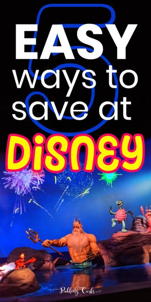 These easy ways to save at Disneyland will have you enjoying your days, but also enjoying the look of your pocketbook when you're over. #frugal #disneyland #travel via @pullingcurls