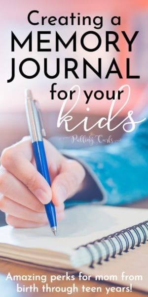 mom journaling