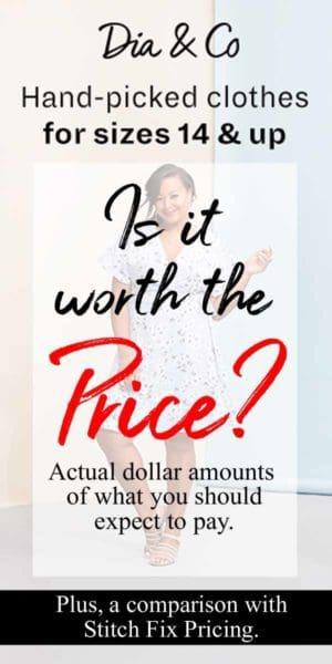 Cost of Dia & co vs Stitch Fix