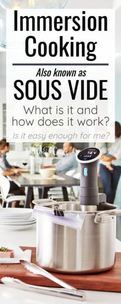 how does sous vide work?