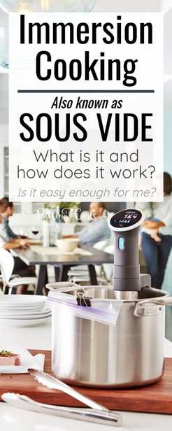 Sous Vide cooking is all the rage. We'll talk about what IS sous vide cooking, how you could cook steak, chicken or eggs (and more). Plus instructions and I'll share some of the YouTube channels that helped us love our new Anova. via @pullingcurls