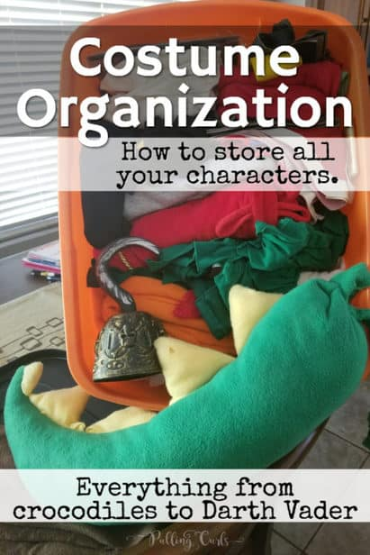 how to organize your home costume collection