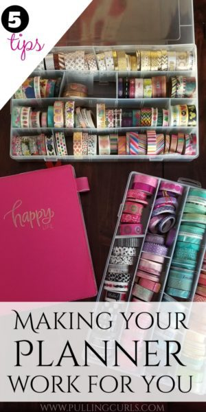 How to use a paper planner