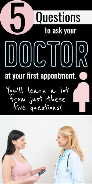 what should I ask my doctor at my first pregnancy appointment. via @pullingcurls