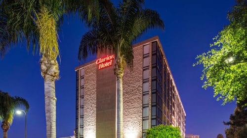 clarion, an expensive disneyland hotel