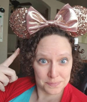 Hilary Erickson Mickey Ears