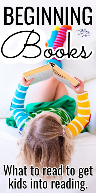 What books should kids be reading first?  Kindergarten readers, leveled, beginning via @pullingcurls