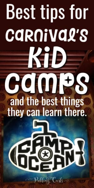 kid camps on cruises
