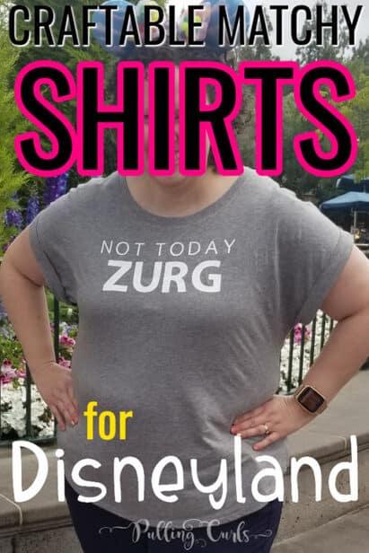 matching Disneyland shirts