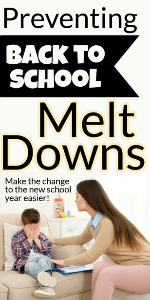 Back to school meltdowns:  Heading into the new school year means changing schedules and new challenges.  Learn how to understand what's going on and how to help your child at this precarious time. #afterschool #parenting via @pullingcurls
