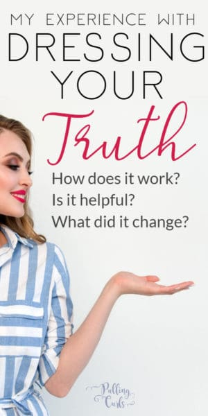 pretty woman dressing her truth