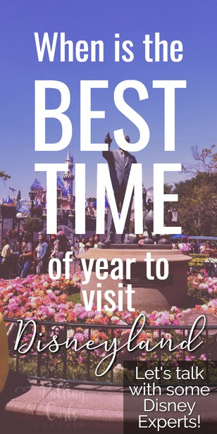 When is the BEST time to go to Disneyland? with Jessica Sanders from The Happiest Blog on Earth  — PCP Episode 008 via @pullingcurls