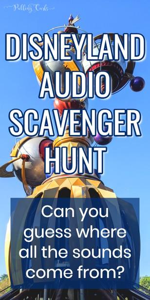 This audio scavenger hunt through Disneyland will have memories floating through your mind. I think you'll love this podcast! #disneyland #podcast #disney #scavengerhunt #quiz via @pullingcurls