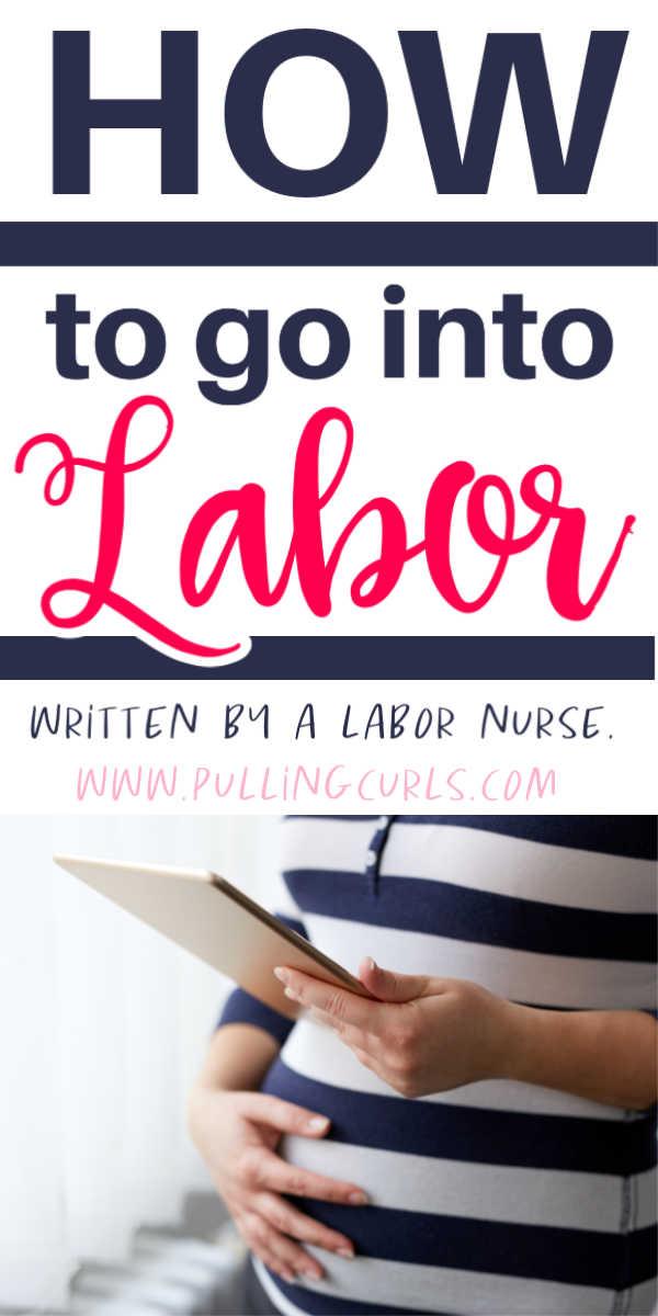 How do I go into labor? via @pullingcurls