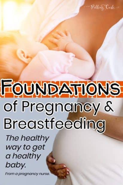 pregnant & breastfeeding mom