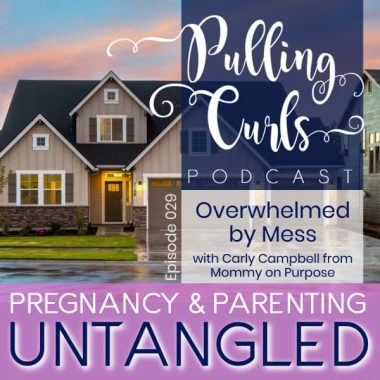 Overwhelmed with Mess with Carly Campbell from Mommy on Purpose — PCP 029