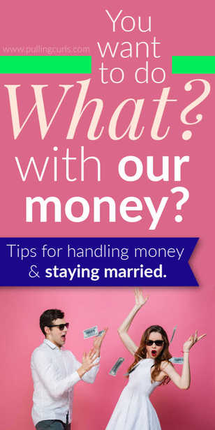 What to do with your money together as a married couple. via @pullingcurls