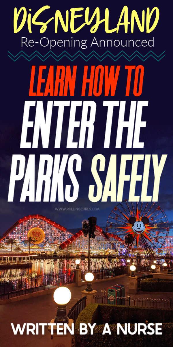 How to go back to Disneyland Safely! via @pullingcurls