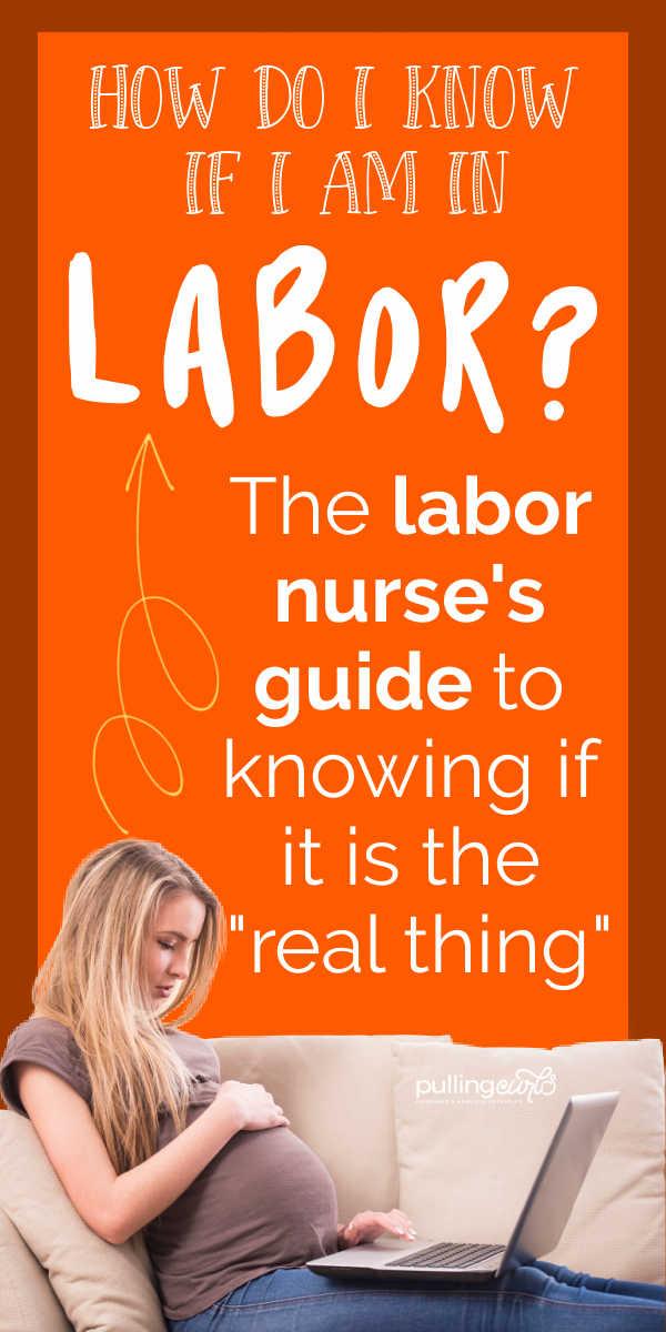 How do I know I'm going into labor? via @pullingcurls