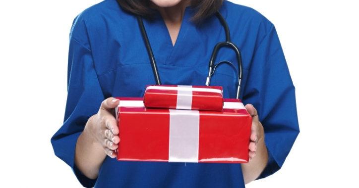 Labor Nurse with a gift