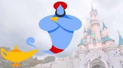 Genie at Disneyland