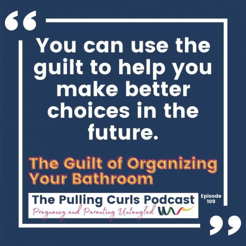 You can use the guilt to help you make better choices in the future.