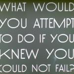 Which is Worse? Failing or Never Trying?
