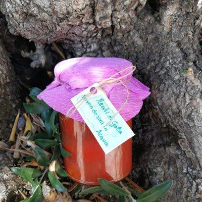 pomodorini spellati - Reati di Gola - pulmino contadino