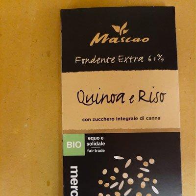 Mascao Quinoa e riso 100gr - Altromercato - pulmino contadino
