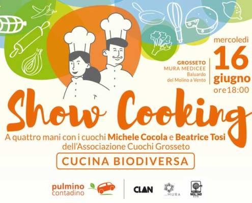 16 giugno 2021 - Show Cooking biodiverso - Pulmino contadino