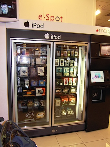 iPod Vending Machine Glendale